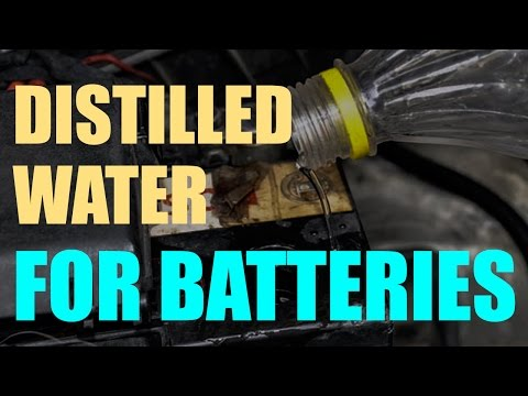 Distilled Water For Batteries