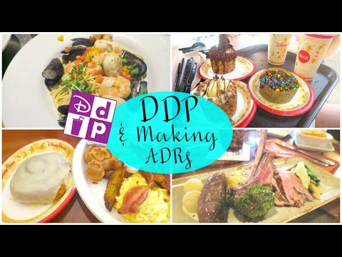 DISNEY DINING PLAN + MAKING ADRS | Lizzie Gines