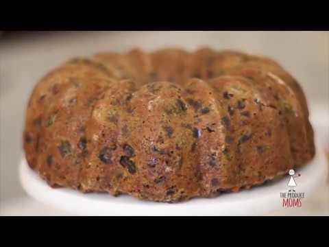 Holiday Fruitcake Recipe - The Produce Moms