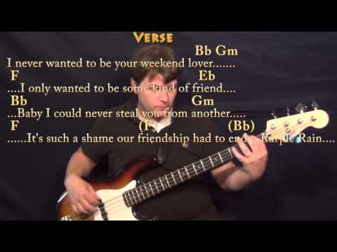Purple Rain Prince EASY Acoustic Guitar Chords TABS & Lesson Link ...