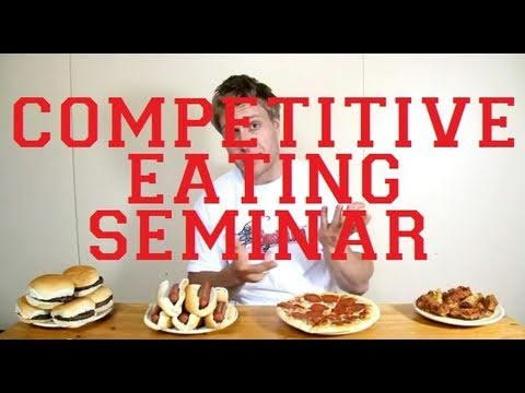 How To Eat Like A Competitive Eater (INTERACTIVE)