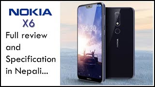NOKIA X6 full review and Specification in Nepali...