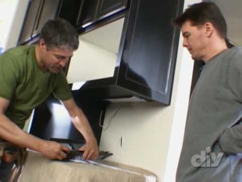 Install Under Cabinet Lighting-DIY Network