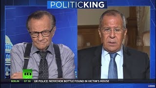 What is an ideal outcome of Putin-Trump meeting? Russian FM tells Larry King (EXCLUSIVE)