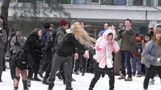 UBC Snowball Fight 2017