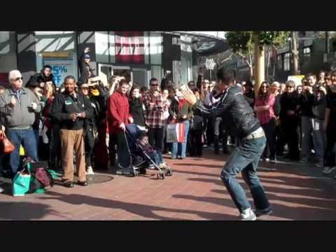 San Francisco Flash Mob Dance Rhythm and Motion