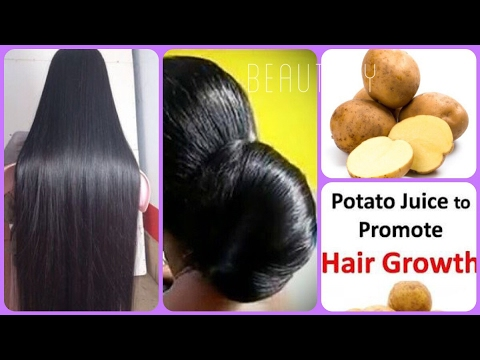 How to use POTATOES For Hair GROWTH and UNDER EYE CIRCLES
