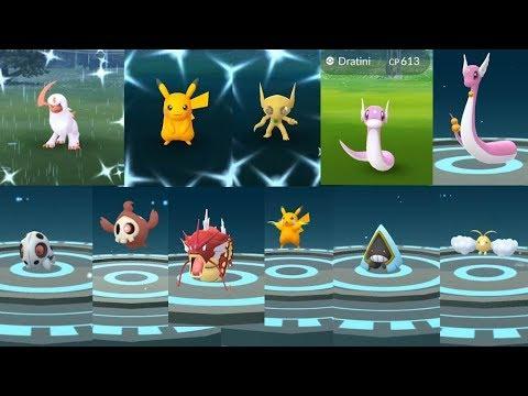 My Greatest Shiny Achievement Through Evolution, Encounter & Raid in Pokemon Go