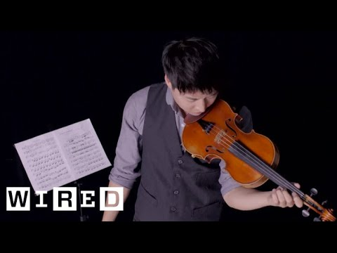 This is FAST: Violin Playing | WIRED