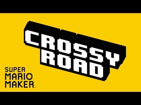 Super Mario Maker: Crossy Road [Community Levels] - Wii U Gameplay