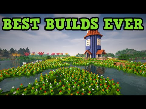 Minecraft - BEST BUILDS EVER (Top 10)