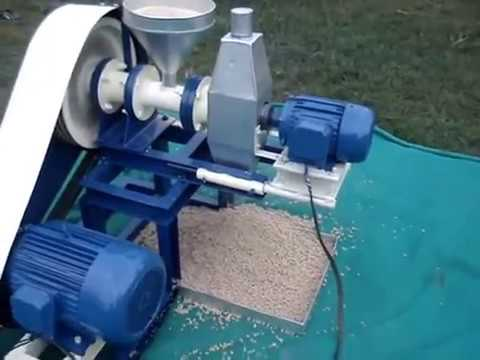 Floating Fish Feed Machine Pellet Making