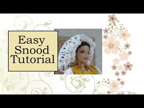 Tutorial: How to Make a Medieval Snood
