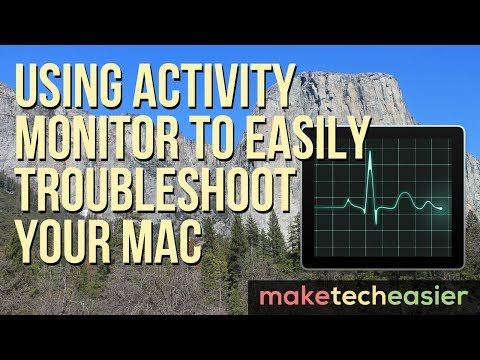 Using Activity Monitor to Easily Troubleshoot Your Mac