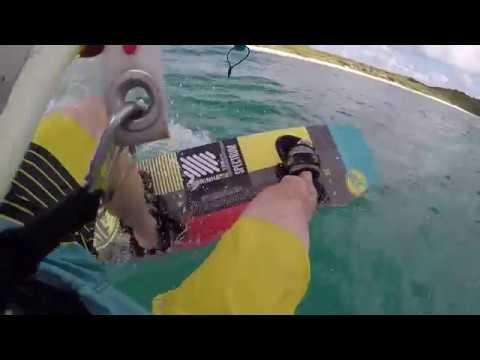 Half Moon Bay   Antigua Kitesurfing 2018