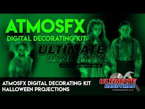 AtmosFX digital decorating kit | Halloween projections