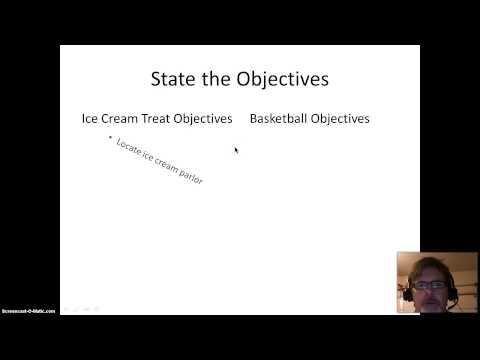 VIBL #6, Project Charter: Thinking about Goals & Objectives