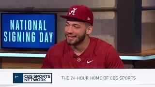 Antonio Alfano talks Committing to Alabama | Inside College Football
