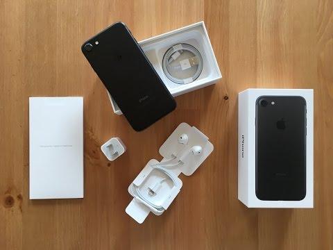 iPhone 7 Black – Unboxing