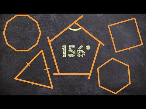 How to determine the number of sides given one interior angle