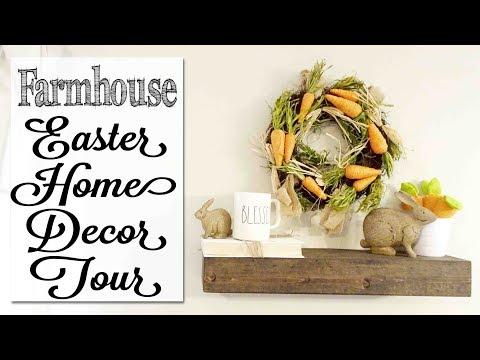 Farmhouse Easter Home Decor Tour
