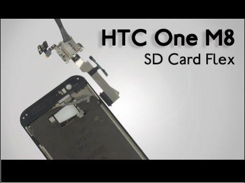SD Card Flex for HTC One M8 Repair Guide