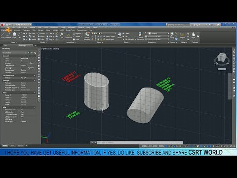 HOW TO EXTRUDE AT AN ANGLE IN AUTOCAD, EXTRUDE OBJECT AT ANY DEGREE AUTOCAD