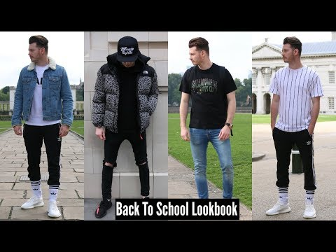 Best Back To School Outfit Ideas - Mens Fashion Lookbook 2017