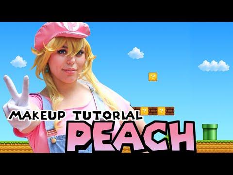 ☆ Princess Peach Halloween Makeup Tutorial ☆