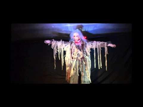 SD805 Scarecrow Descender PoisonProps.com Haunted House Prop