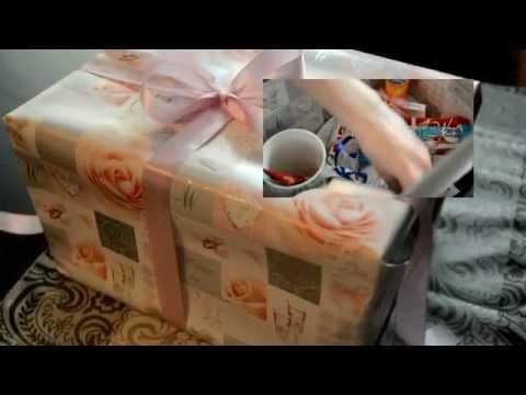 Jak zrobić oryginalny prezent ślubny w pudełku / How to make a wedding gift DIY