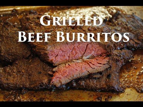 Grilled Skirt Steak Burrito