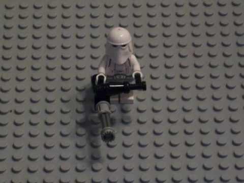 How to make a lego mini-gun