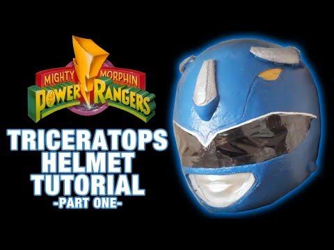 Power Rangers Helmet DIY / Tutorial Part 1