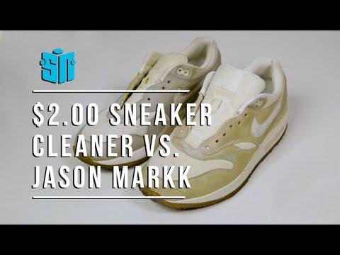 Jason Markk vs $2.00 Homemade Sneaker Cleaner