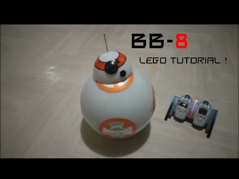 How to build bb-8 in lego RC (build instruction)
