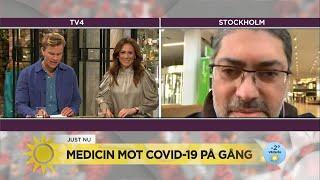 """Coronamedicin på gång """"Det ser väldigt lovande ut"""" - Nyhetsmorgon (TV4)"""