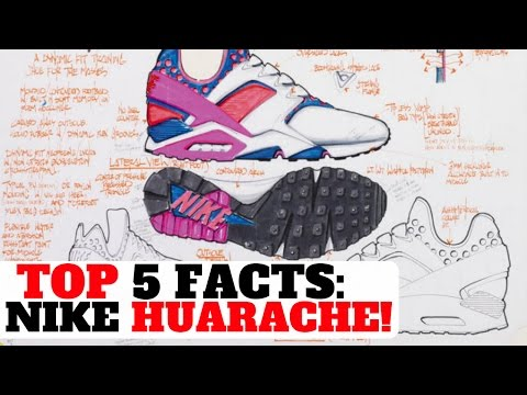 TOP 5 FACTS: NIKE AIR HUARACHE! (EVERYTHING YOU NEED TO KNOW)