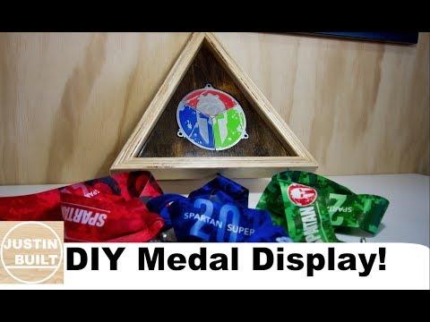 DIY Trifecta Medal Holder!