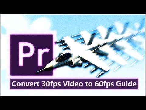 Convert 30fps Video to 60fps using Premiere Pro CC