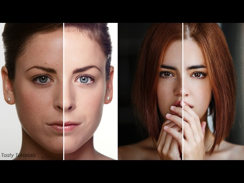 Skin Cleaning and Retouch in Photoshop CC 2017