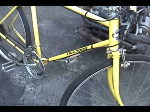 new project - vintage Sears Free Spirit road bike