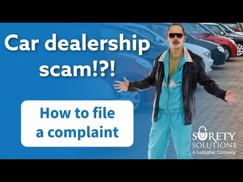 Car Dealership Scam: How To File a Complaint