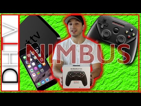 SteelSeries Nimbus Gaming Controller - iPhone, iPad, Apple TV, Mac & iPod Touch