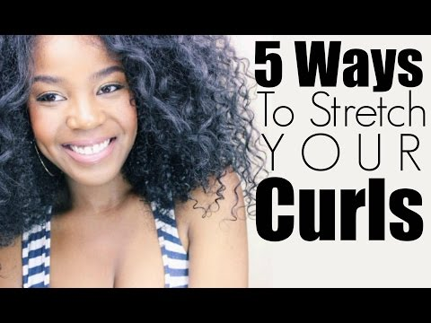 How To Stretch Your Curls | 5 Techniques