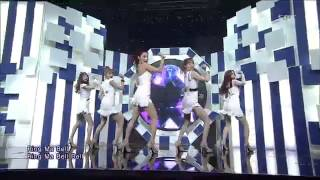 130217 EP709 SBS Inkigayo TWO X - Ring Ma Bell Comeback Special