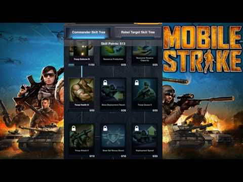 Mobile Strike LEVELING UP COMMANDER TO LEVEL 63- How Much Power Do You Gain, Boosts, & Commendations