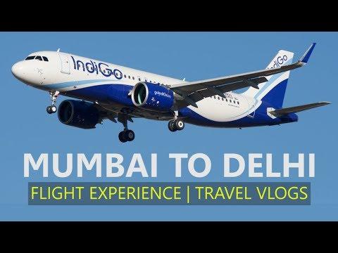 MUMBAI TO DELHI FLIGHT JOURNEY| FLIGHT EXPERIENCE..✈
