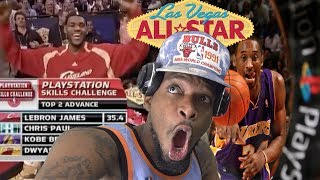 IF ONLY KOBE COULD PASS MAN! 2007 NBA SKILLS CHALLENGE REACTION!