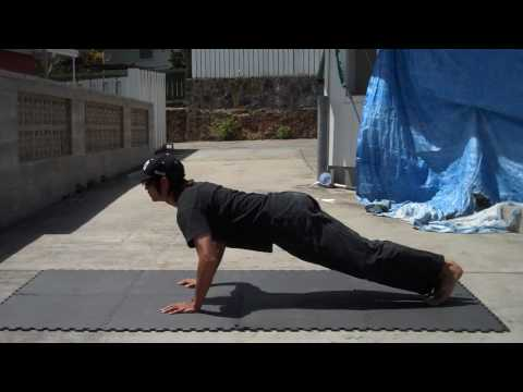 Method on How To Develop Explosive Power and Speed (Clap Push-Ups)